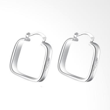SOXY LKNSPCE280 New Exquisite Fashion geometric Earrings - Silver