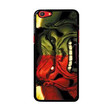 Flazzstore Red Hulk Vs Green Hulk F0212 Custom Casing for Oppo F3 Plus