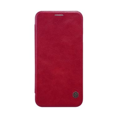 Nillkin Qin Leather Casing for Sams ... o or Galaxy J5 2017 - Red