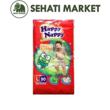 harga Happy Nappy L 30 Smart Pants Popok Sekali Pakai L30 Blibli.com