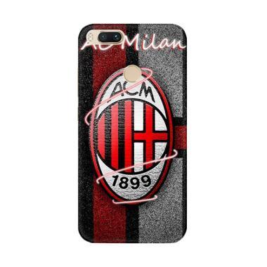 Flazzstore Ac Milan Logo X4283 Cust ... omi Mi A1 or Xiaomi Mi 5X
