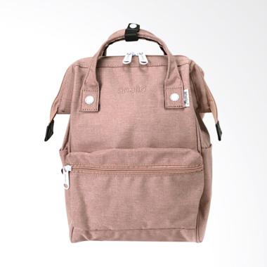 Anello AT-B2264 Polyester Tas Ransel Backpack Mini Size - Natural Pink