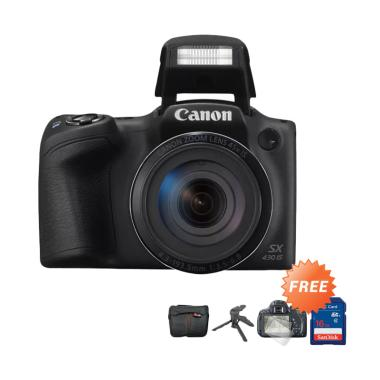 Canon PowerShot SX430 IS Kamera Prosumer + Free Aksesories Lengkap