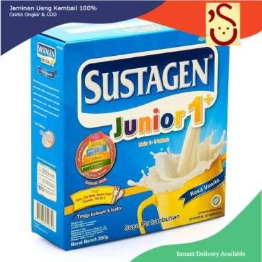 [BISA COD] sustagen junior 1+ vanilla 350 gram