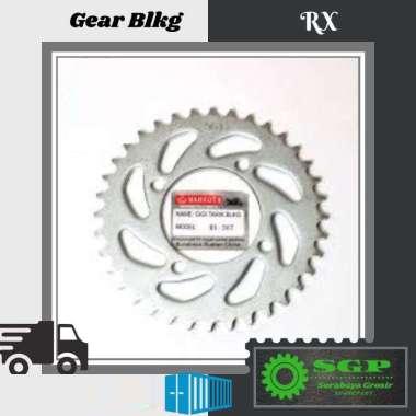 harga Mahkota Gear Belakang 33T for Yamaha RX King, RXS, FIZR, Vega ZR, Jupiter Z, Crypton SILVER