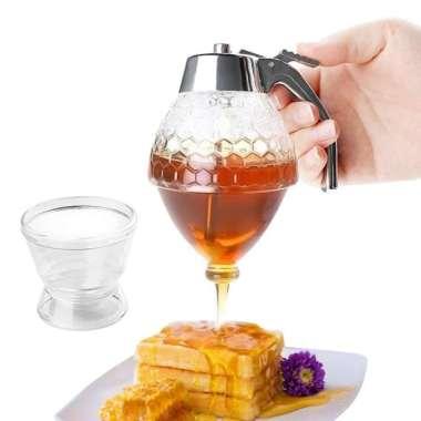 harga Terbaru HILIFE Honey Dispenser Jar Teko Botol Madu Sirup Serbaguna - 17429 Diskon Blibli.com