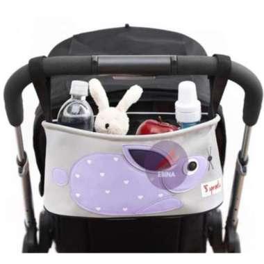 harga Jual Tas trolly perlengkapan bayi kereta anak - baby bag in bag traveling Berkualitas Blibli.com