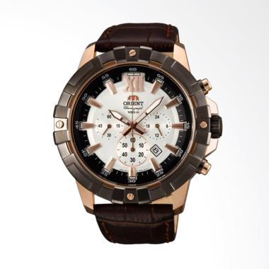 Orient Sport Chronograph Jam Tangan Pria [FTW03003W]