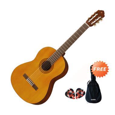 Yamaha C-330A Gitar Akustik - Natural + Free Softcase + 2 Pick