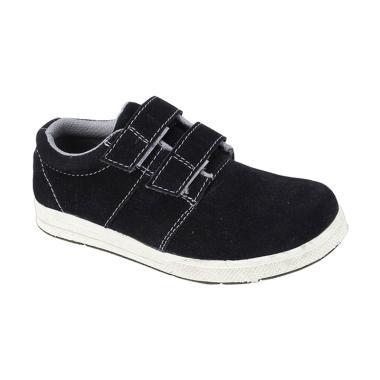 Syaqinah 043 Sepatu Sneaker Anak Laki-Laki - Hitam