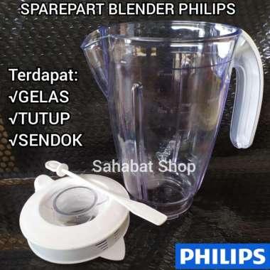 harga Jar gelas besar blender philips diva HR 2061, 2071, 2115, 2116 + tutup Blibli.com