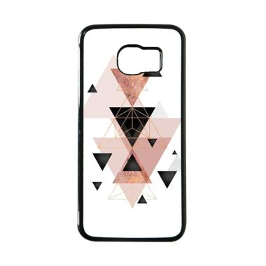 Cococase Geometric Triangles in Blu ... ing for Samsung Galaxy S6