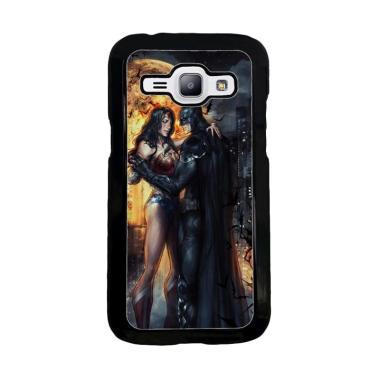 Acc Hp Batman Love Wonder Woman Y0847 Custom Casing for Samsung J1 Ace