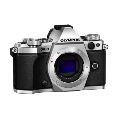 Olympus OMD EM5 MARK II Body Only Kamera Mirrorless - Siver