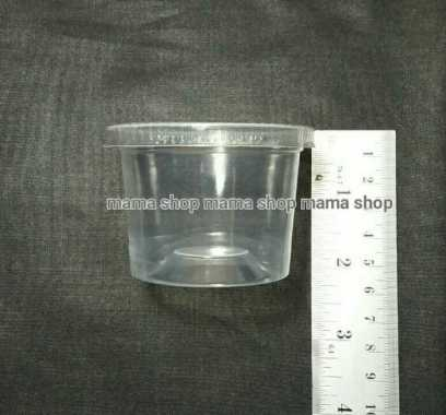 harga New CUP PUDING JELI SAOS GELAS PLASTIK KECIL UNTUK PUDING TANPA TUTUP Limited Blibli.com