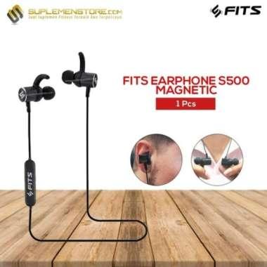 harga BARU FITS Headset S500 Magnetic original Bluetooth 4.1 Headphone multicolor Blibli.com