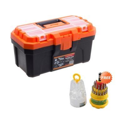 KENMASTER B400 Tool Box + Free 31 in 1 Tool Kit ME-6036 B
