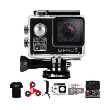 Brica B-PRO 5 AE Mark II Combo 3 Wa ... ndo Action Camera - Hitam