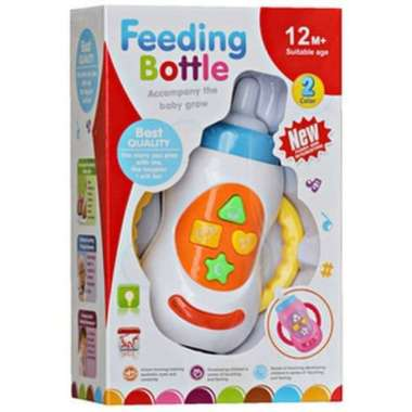 harga Mainan Rattle Musik Lampu Bayi Feeding Bottle Botol Susu Blibli.com