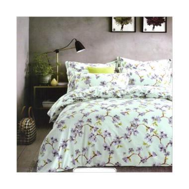 Melia Bedsheet J-3995 Katun Jepang Bed Cover - Floral Print
