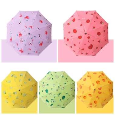 harga Payung lipat 3-buka tutup otomatis-motif bear-motif buah (Kode 002)) multicolor Blibli.com