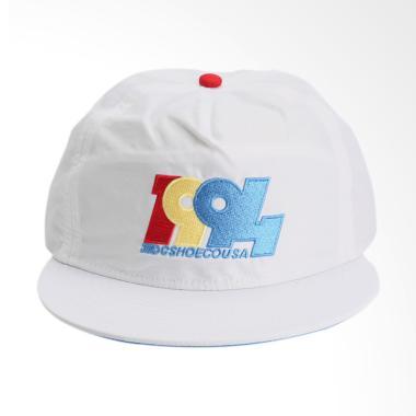 DC Graduate Cap - Bright White [WBB0]