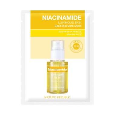harga NATURE REPUBLIC Good Skin Mask Sheet NIACINAMIDE Blibli.com