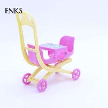 harga 1Pc SP 1Pc Mainan Trolley Kereta Dorong Bayi Mini untuk Dekorasi Semua Ukuran Multicolor Blibli.com