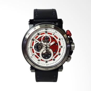 Alexandre Christie Chronograph Silv ... am Tangan Pria [AC6429MC]