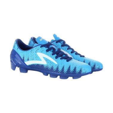 harga Specs Cyandie Wildcat Sepatu Sepak Bola Pria - Navy Cirrus Blue White Blibli.com