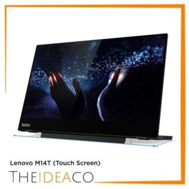 harga Promo Lenovo Monitor Thinkvision M14 Touch Screen + Pen Blibli.com