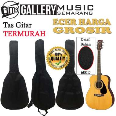 harga Tas Gitar Akustik dan Jumbo / Softcase Gitar Akustik dan Jumbo Bahan Kuat 3/4 Blibli.com