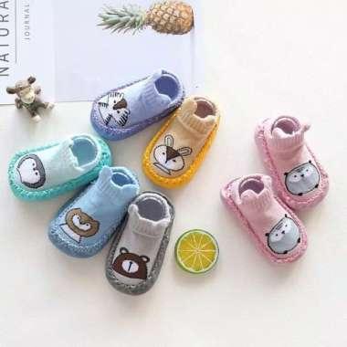 harga Sepatu Bayi Prewalker Baby Shoes Import Korea Kaos Kaki Anti Slip Any - Biru, Size 12 Multicolor Semua Ukuran Blibli.com