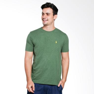 POLO RALPH LAUREN Custom Fit Men T- ... - Green Grass [PX3100008]