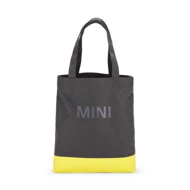 Mini Colour Block Shopper Bag