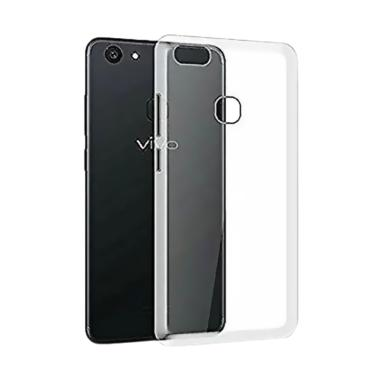 LOLLYPOP Ultrathin TPU Jelly Silicone Softcase Casing for Vivo V7 - Clear