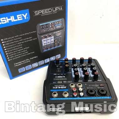 harga Mixer Ashley Speed Up 4 Original Bluetooth - USB recording 4 Channel MULTICOLOUR Blibli.com