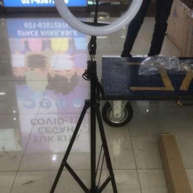 harga NO ONGKIR Ring ligth 33cm+light tripod 2M Blibli.com