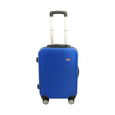 Polo Maple B35 Blue Double Wheel Cabin Koper [20 Inch]