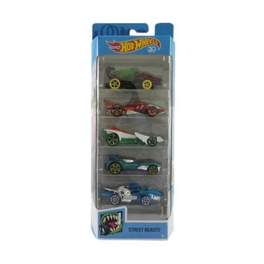 Mattel Hot Wheels 5 Gift Pack Street Beasts Dragon Hammer Down etc Set