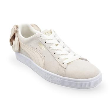 PUMA Women Suede Bow Varsity Sepatu Olahraga Wanita - Cream  367732 03  7a98f9ae93