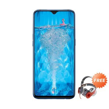 OPPO F9 Smartphone [64GB/ 4GB] + Free Headphone