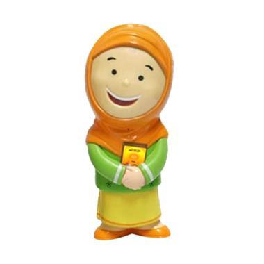 Al Qolam Hafizah versi 4 Talking Doll - Orange