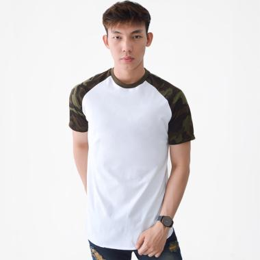 Kale Clothing Camo Long T-shirt Kaos Pria