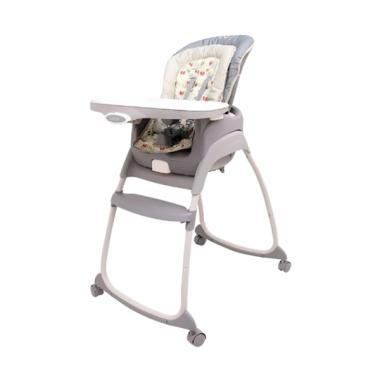 Weeler Trio 3 in 1 High Chair Birds N Bees Kursi Makan Bayi - Grey