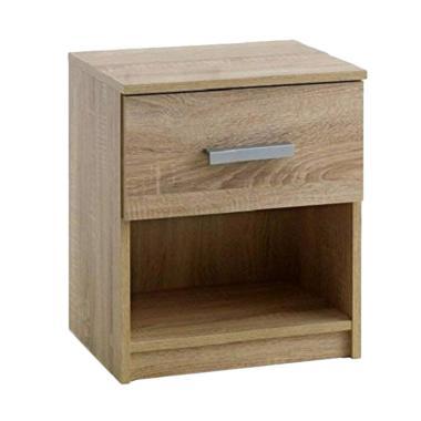 JYSK Bed Side Table Kabdrup [41x32x46 cm]