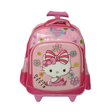 Hello Kitty 0930010758 Trolley Bag Tas Sekolah Anak