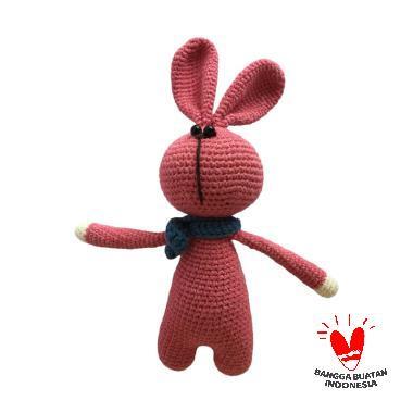 harga Dee Amigurumi Rabbit Syall Boneka - Merah Blibli.com