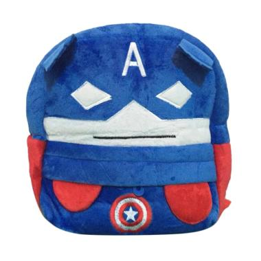 harga Superhero Boneka Captain America Avengers Superheroes Tas Ransel Anak Blibli.com