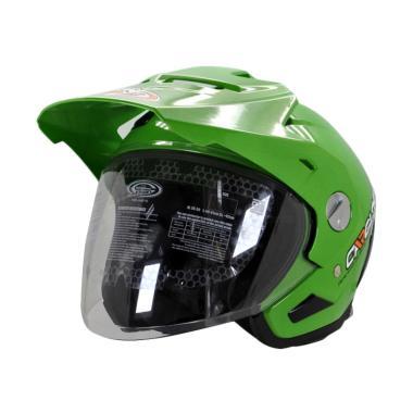 harga Cargloss Former AHRS Esia Helm Half Face - Green Blibli.com